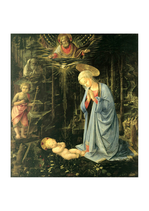 Fra Filippo Lippi The Adoration in the Forest