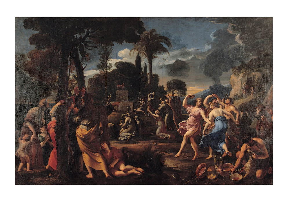 François Perrier - Adoration Of The Golden Calf