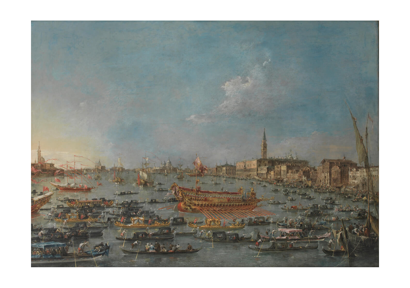 Francesco Guardi The Bucintoro Festival of Venice