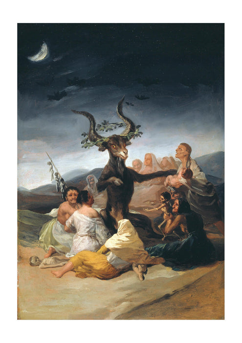Francisco De Goya Y Lucientes - Witches Sabbath