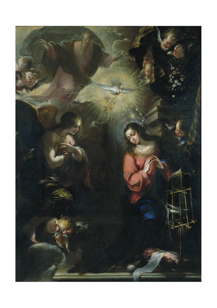 Francisco De Solís - Annunciation
