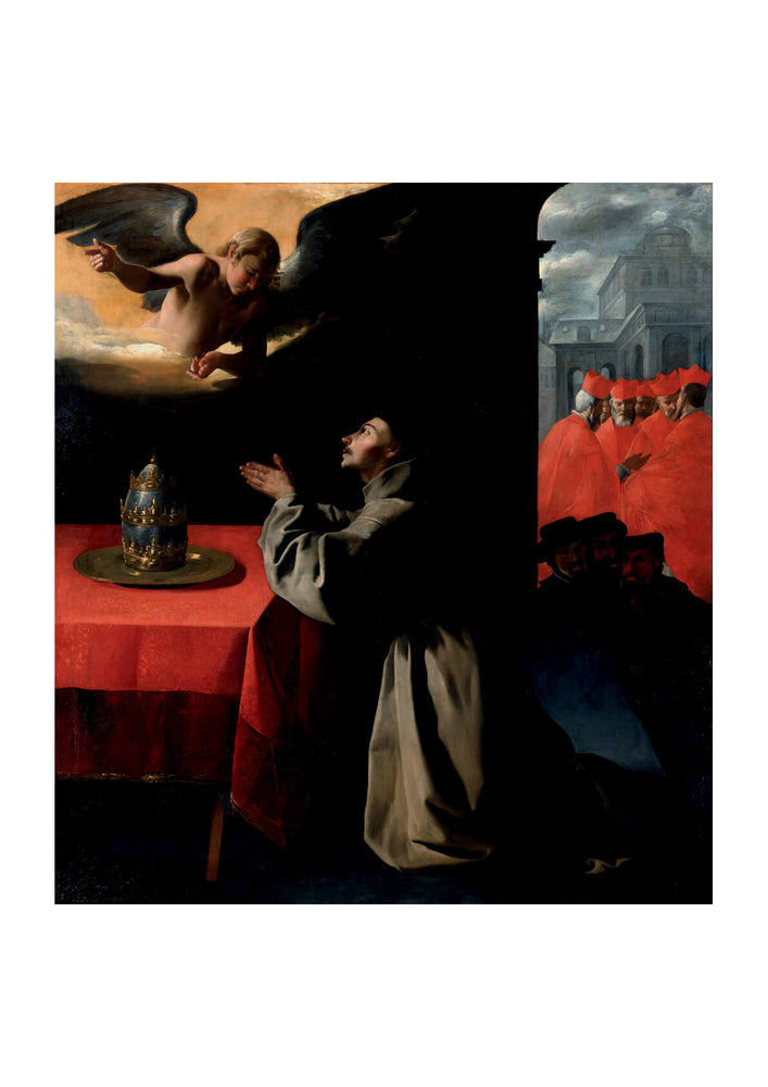 Francisco De Zurbarán - Prayer Of St Bonaventura