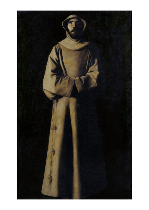 Francisco De Zurbarán - St Francis Of Assisi