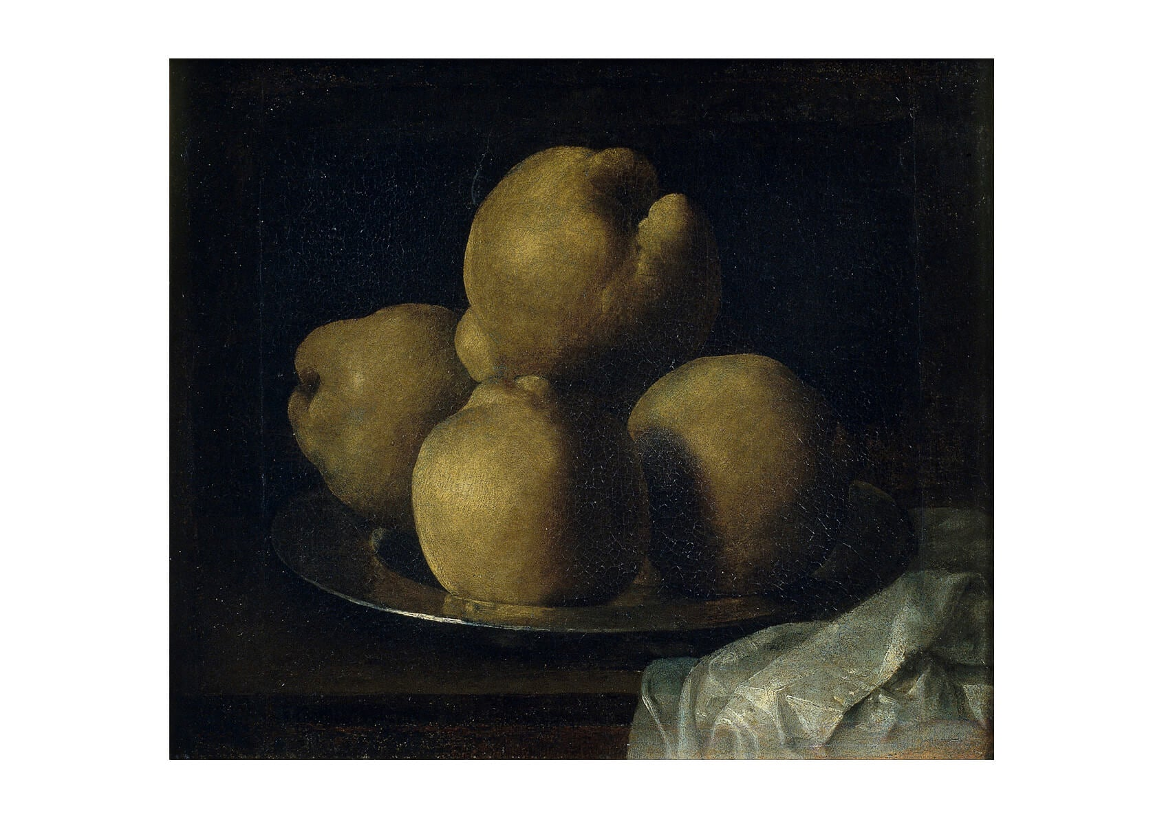 Francisco De Zurbarán - Still Life With Dish Of Quince