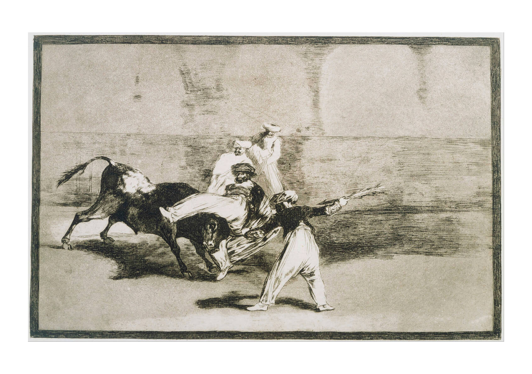 Francisco de Goya - Caught by the Bull