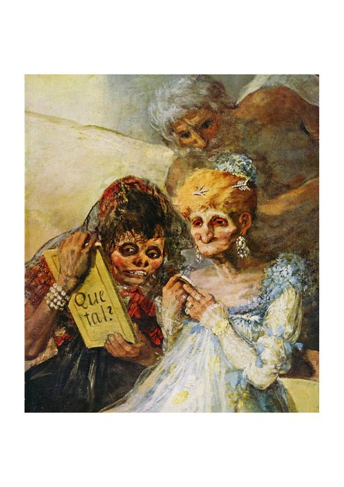 Francisco de Goya - Old Folk
