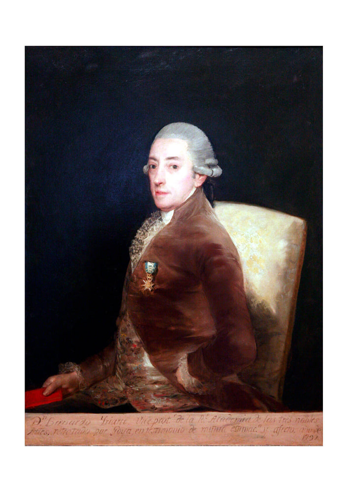 Francisco de Goya - Portrait of don Bernardo de Iriarte
