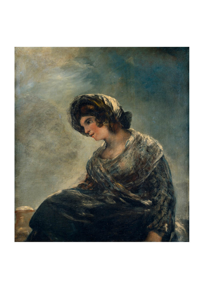 Francisco de Goya - The Milkmaid of Bordeaux
