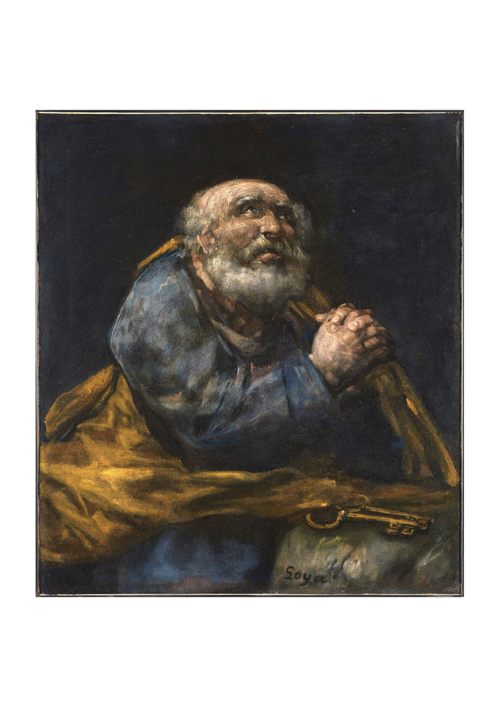 Francisco de Goya - The Repentant St. Peter