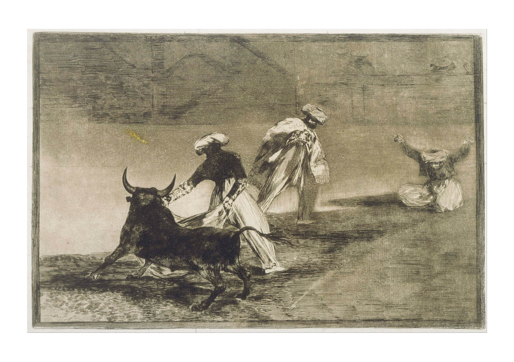 Francisco de Goya - They Play Another with the Cape