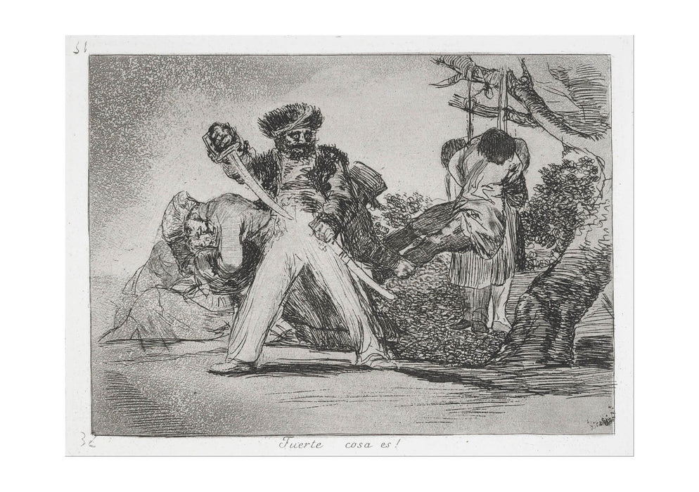 Francisco de Goya - This is too much!