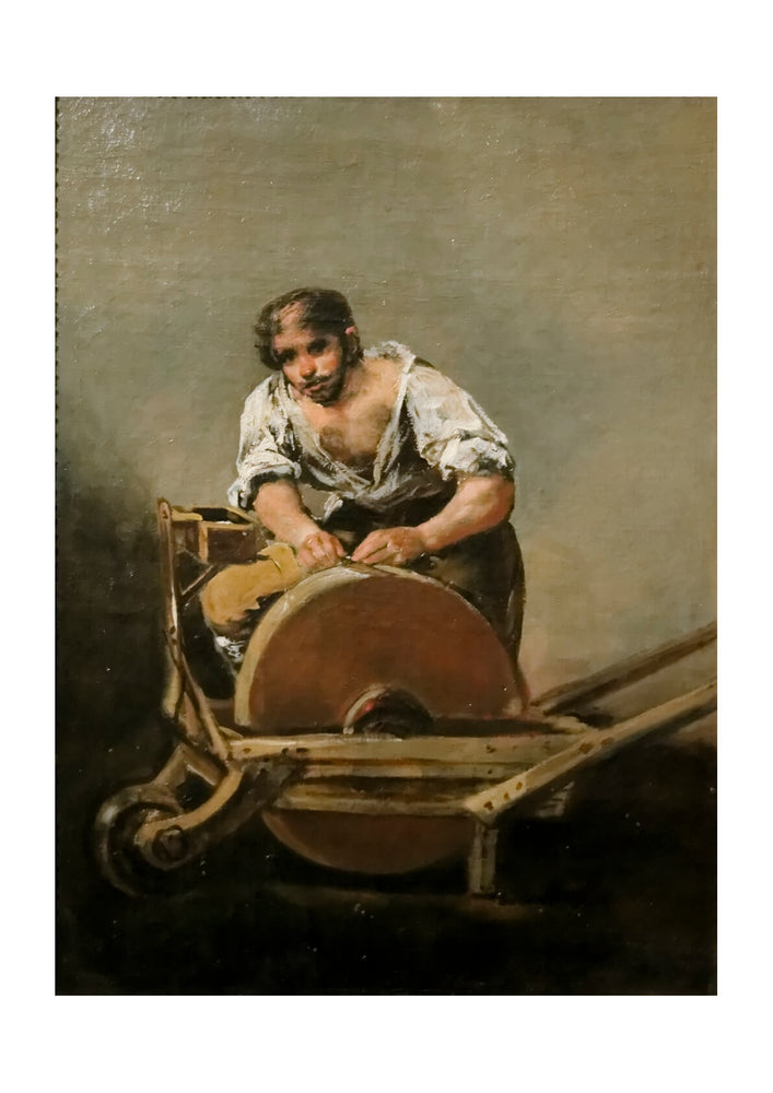 Francisco de Goya - Woman at Work