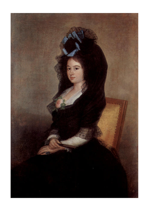 Francisco de Goya - Woman in Black