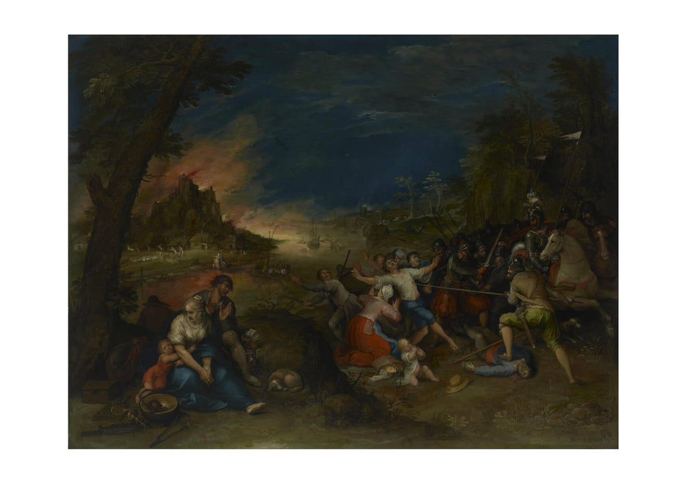 Frans Francken Ii - Allegory Of War