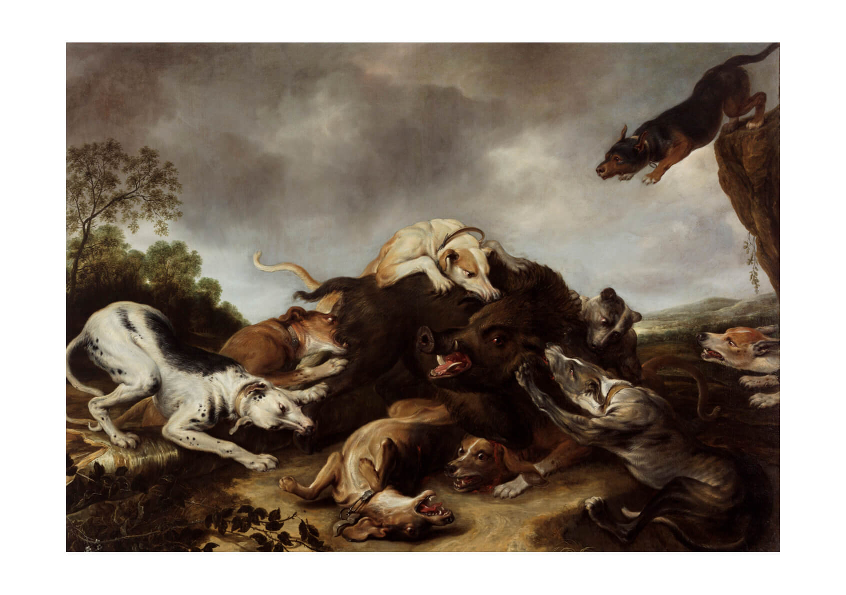 Frans Snyders And Workshop - The Boar Hunt