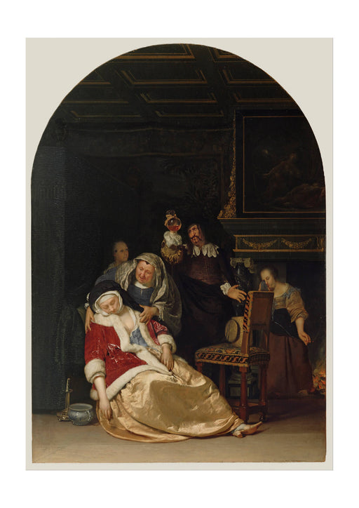 Frans Van Mieris The Elder Dutch - The Doctor's Visit