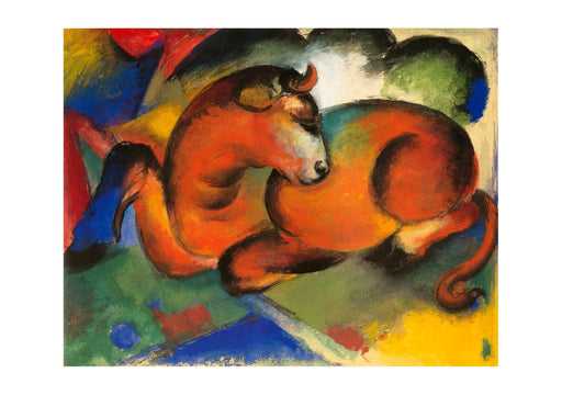 Franz Marc - Roter Stier 1912