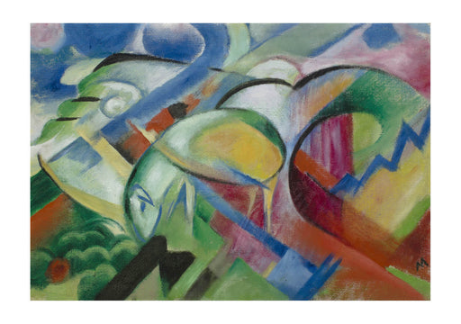 Franz Marc - The Sheep