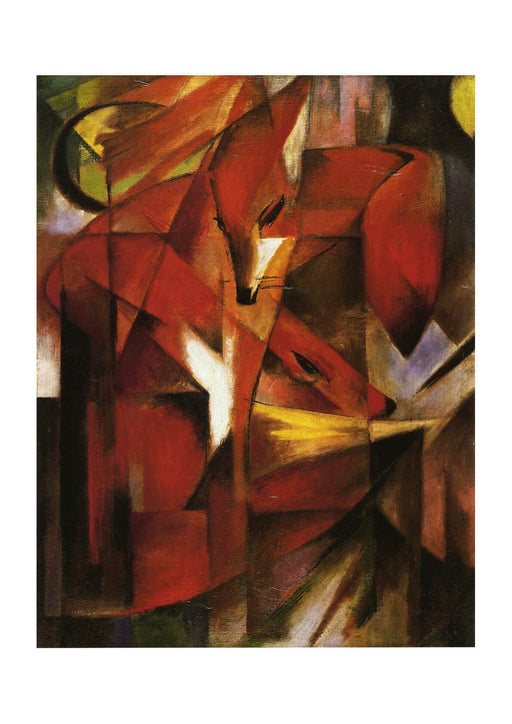 Franz Marc The Fox 1913