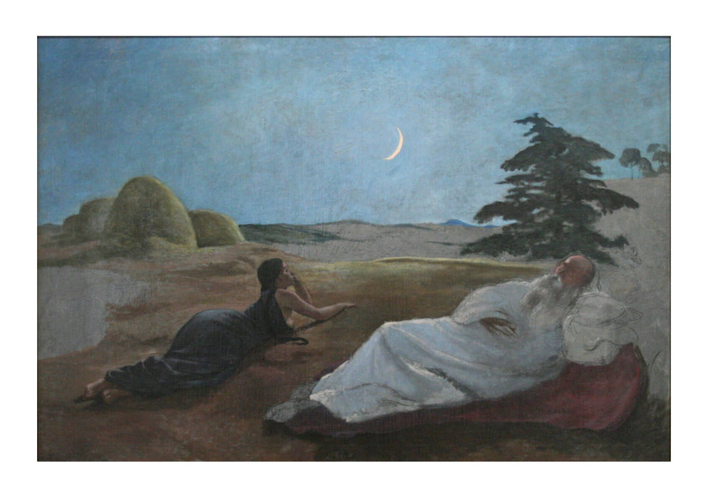 Frederic Bazille - Ruth et Booz