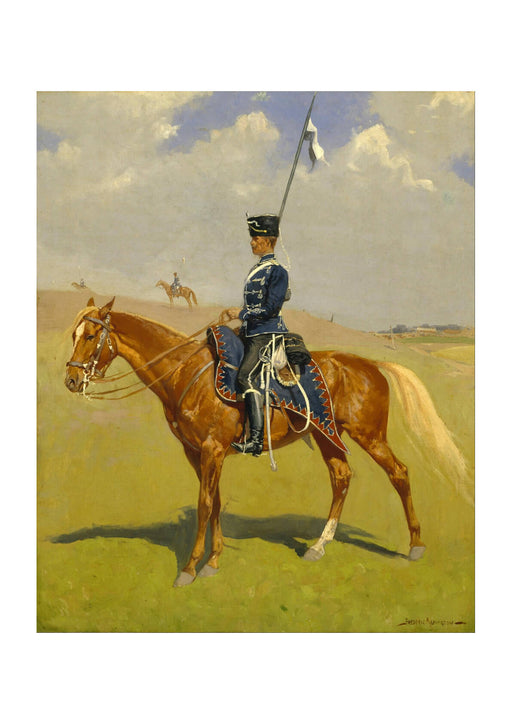 Frederic Remington - The Hussar