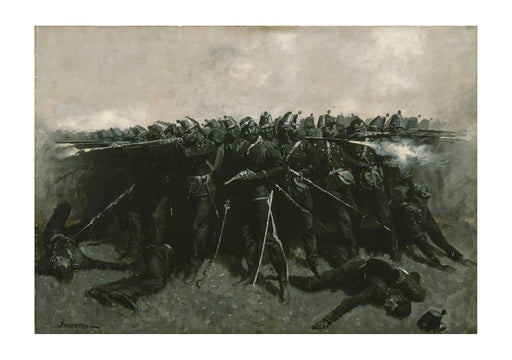 Frederic Remington - The Infantry Square