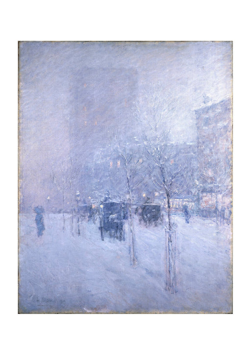 Frederick Childe Hassam - Late Afternoon New York Winter
