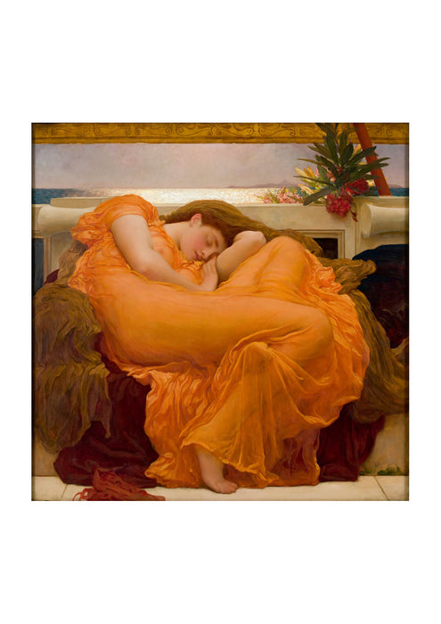 Frederick Leighton - Flaming June 1895