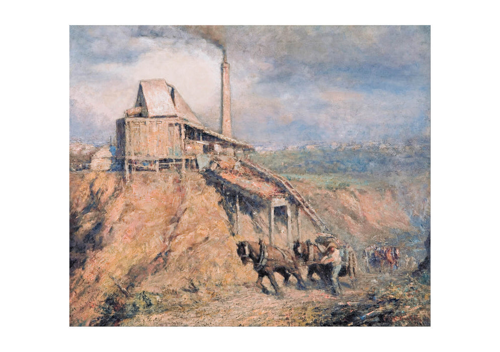 Frederick Mccubbin - The Old Stone Crusher The Quarry