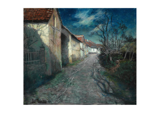 Frits Thaulow - Moonlight in Beaulieu 1904