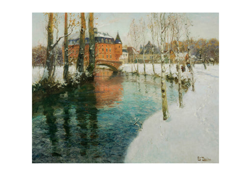 Frits Thaulow - River in Normandy