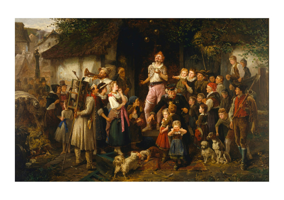 Fritz Beinke - The Juggler- A Village Fair