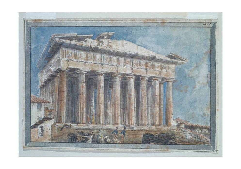Gell Sir William - Removal Of Sculptures From Parthenon