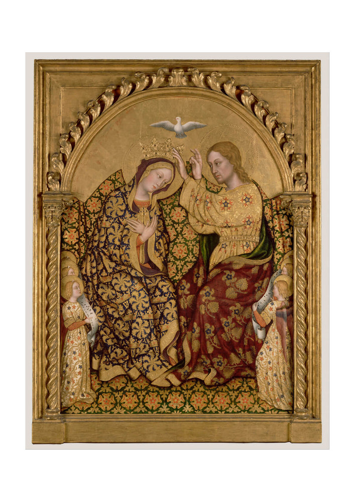Gentile Da Fabriano Italian - Coronation Of The Virgin