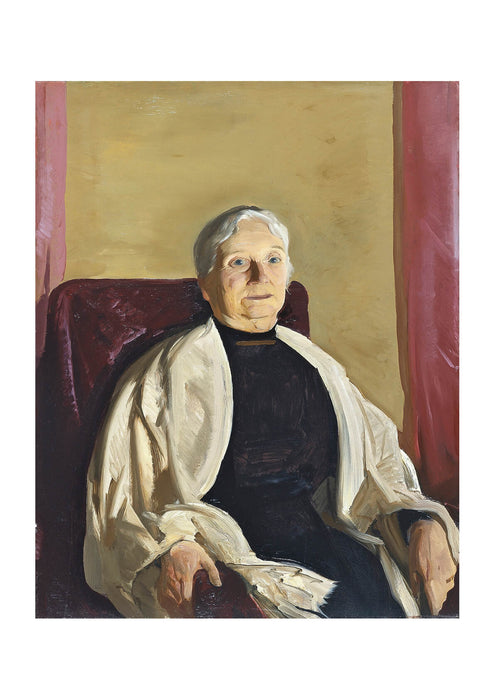George Bellows - A Grandmother (1914)