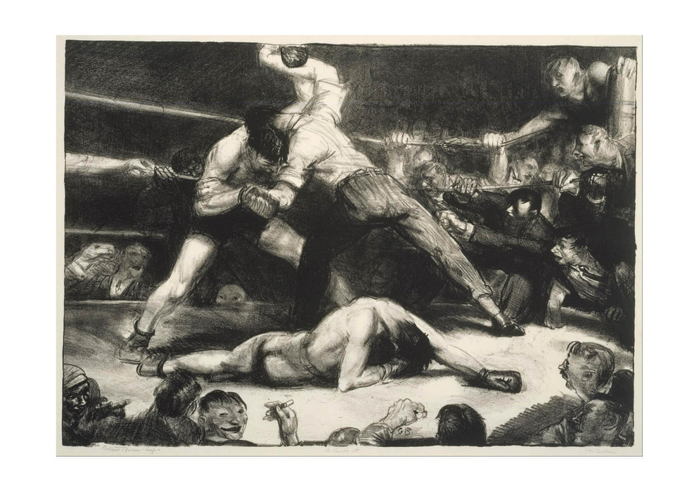 George Bellows - A Knock-Out