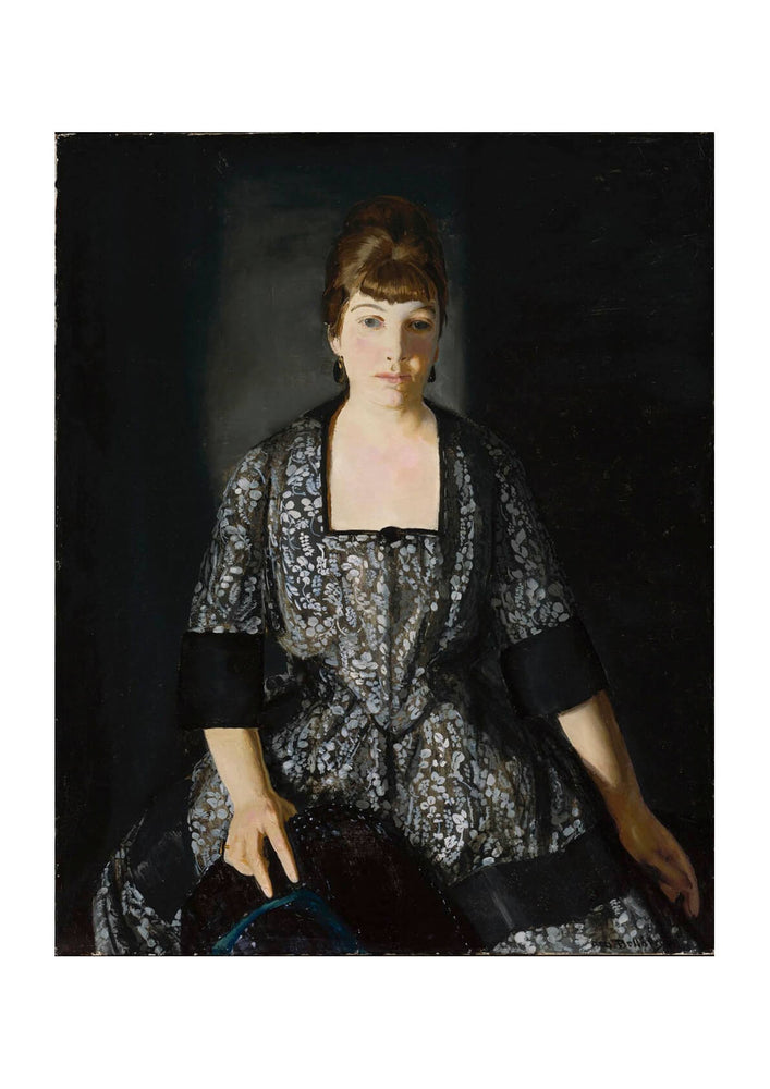 George Bellows - Emma in the Black