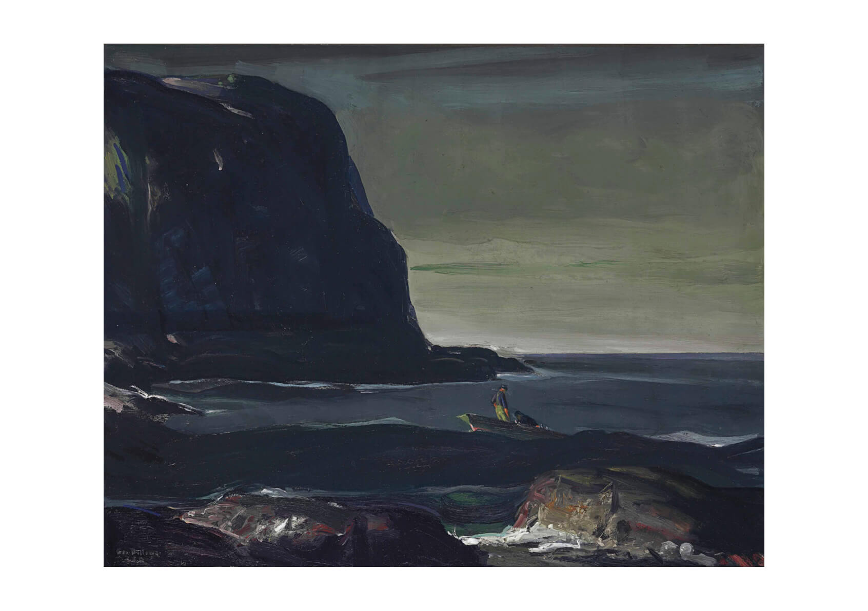 George Bellows - Evening Swell