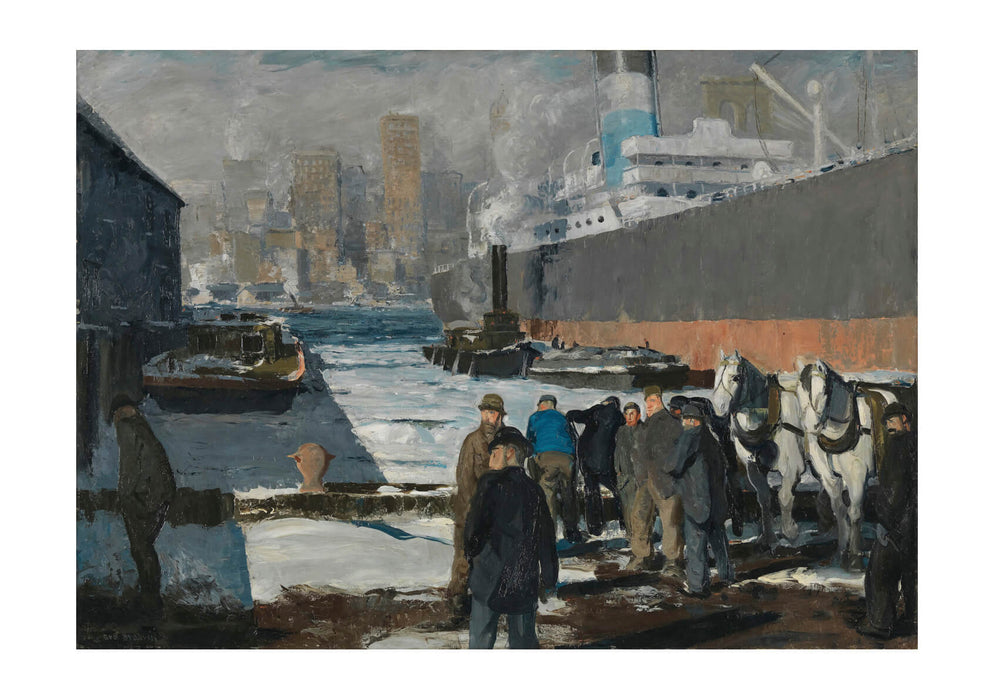 George Bellows - Men of the Docks - 1912