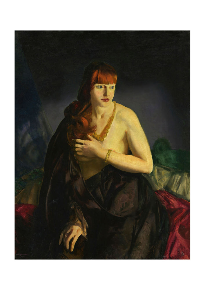 George Bellows - Nude with Red Hair (1920)