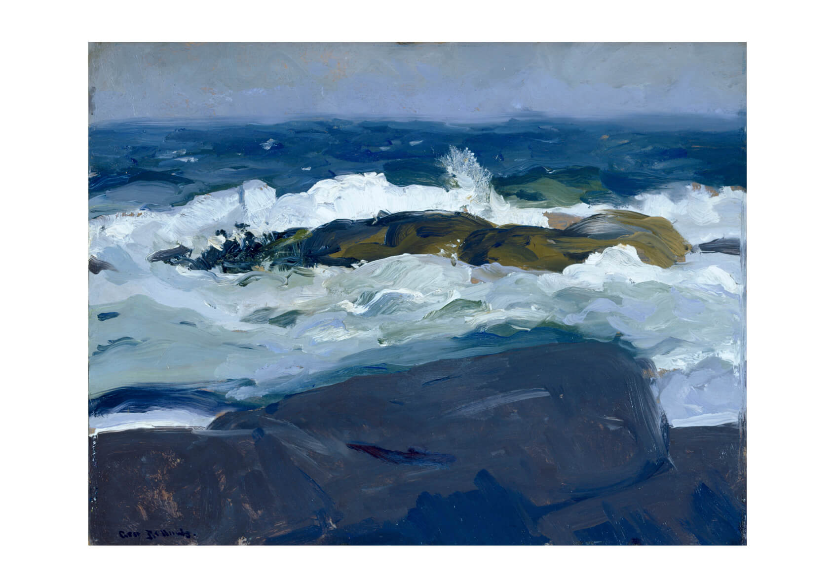George Bellows - Rock Reef Maine