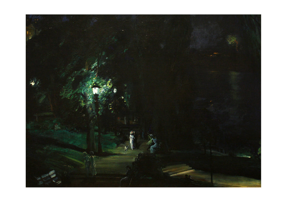George Bellows - Summer Night Riverside Drive (1909)