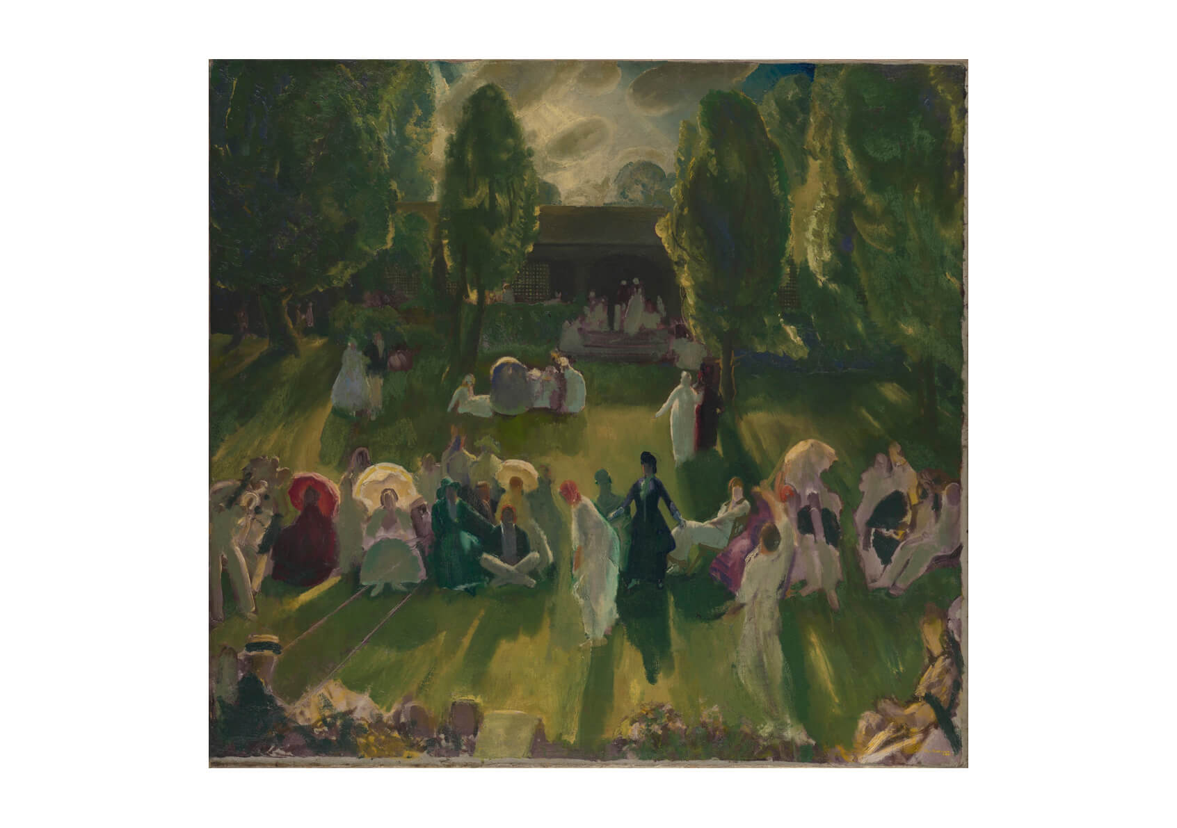 George Bellows - Tennis at Newport (1919)