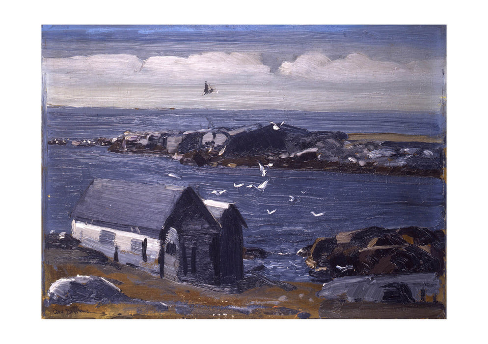 George Bellows - The Gulls Monhegan