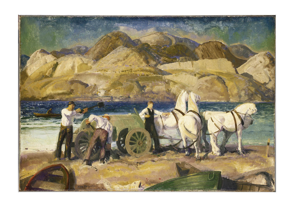 George Bellows - The Sand Cart