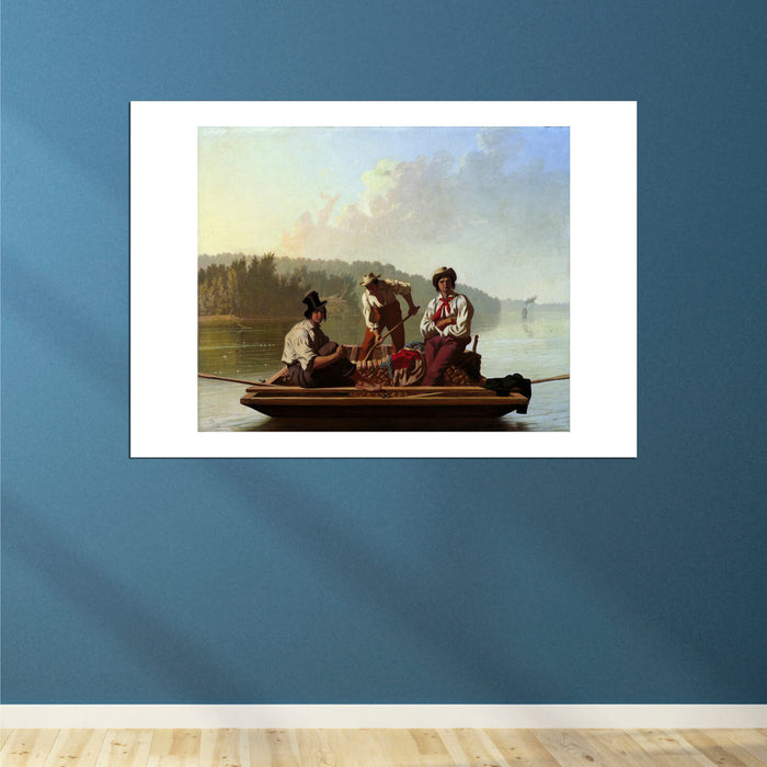 George Caleb Bingham - Boatmen On The Missouri