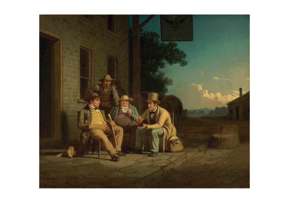 George Caleb Bingham - Canvassing For A Vote