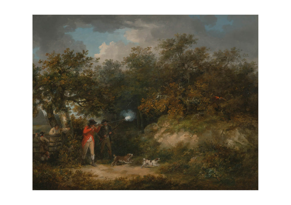 George Morland - Pheasant Shooting