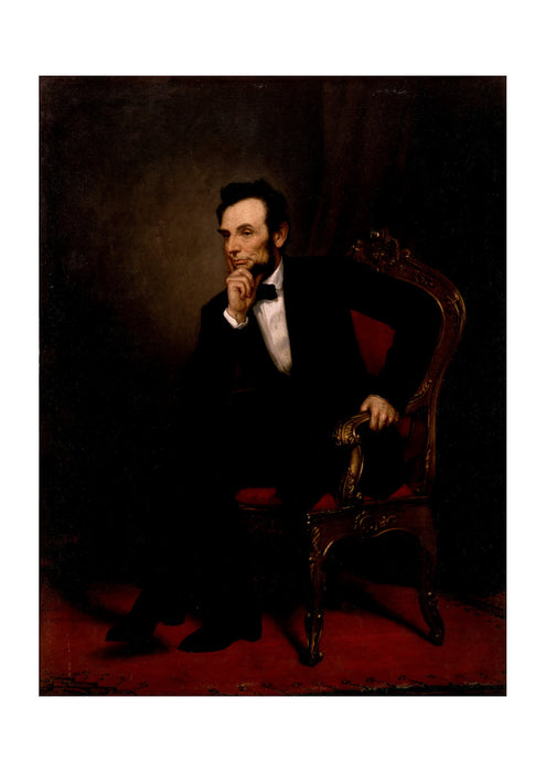 George P.A. Healy - Abraham Lincoln