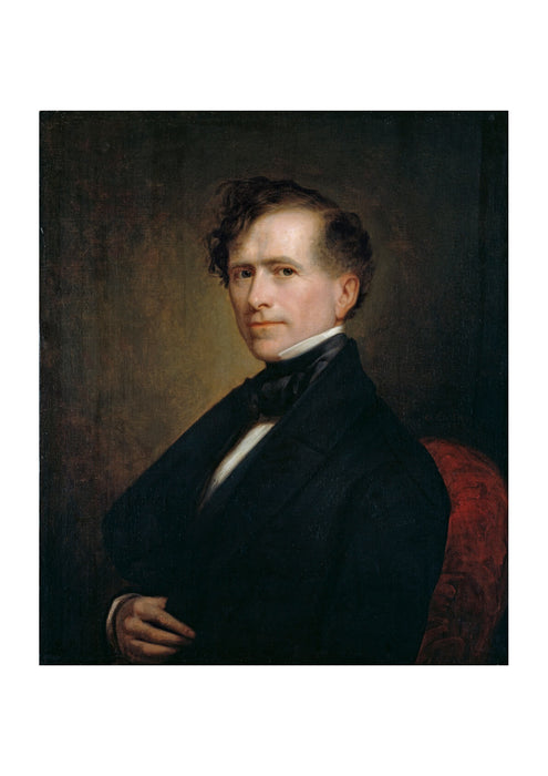 George Peter Alexander Healy - Franklin Pierce